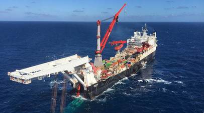 Трубоукладочное судно Solitaire