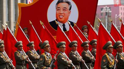 Февральский военный парад в столице КНДР был приурочен к 70-летию создания Корейской народной армии.