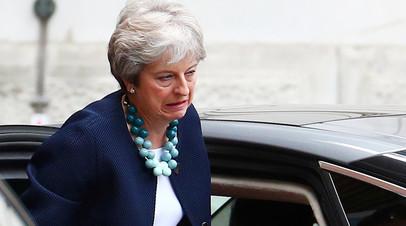 Премьер-министр Соединённого Королевства Тереза Мэй