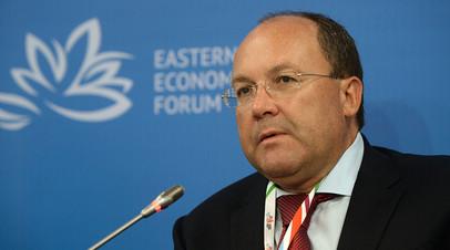 Глава Федерального агентства по туризму Олег Сафонов
