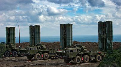 ЗРК С-400 «Триумф» в Крыму