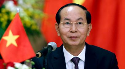 Полтавченко выразил соболезнования в связи с кончиной президента Вьетнама