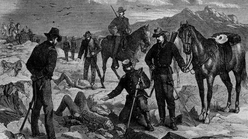 «Индейцам просто не оставалось места»: как переселенцы отвоёвывали земли у коренных жителей Северной Америки