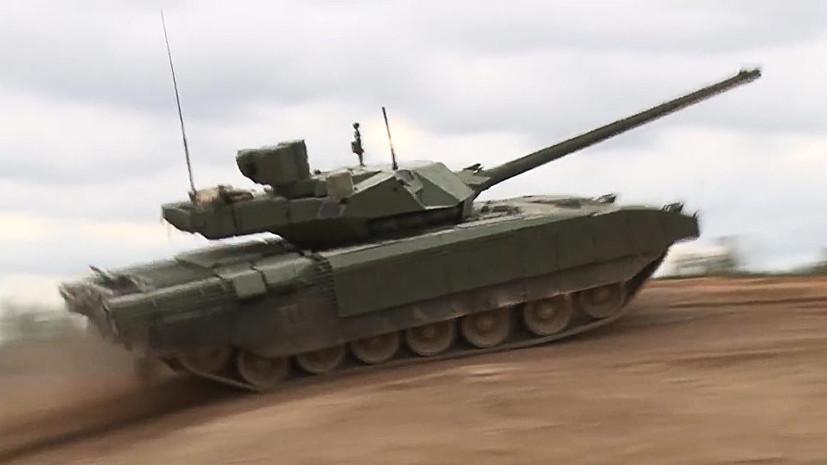 СМИ: Индия рассматривает возможность закупки российских танков «Армата»