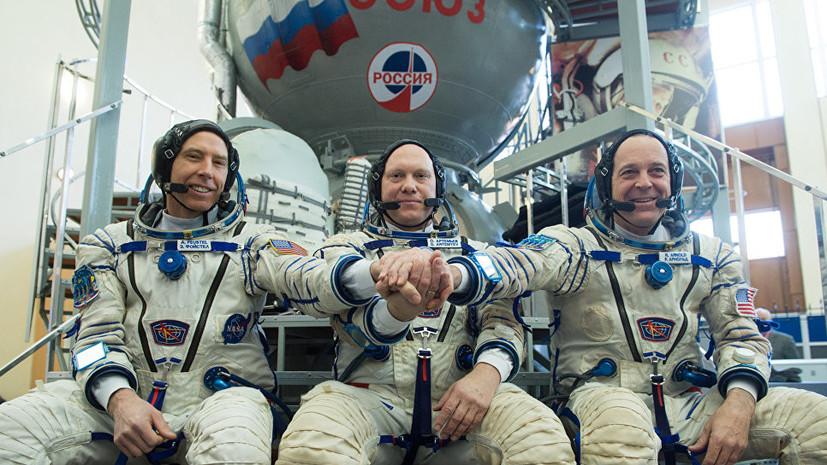 «Союз МС-08» с тремя космонавтами на борту отстыковался от МКС