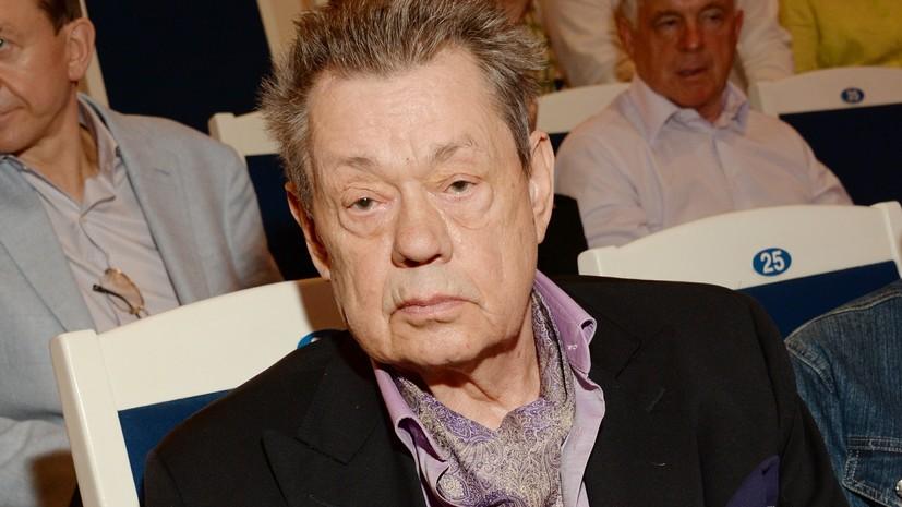Актёр Николай Караченцов госпитализирован