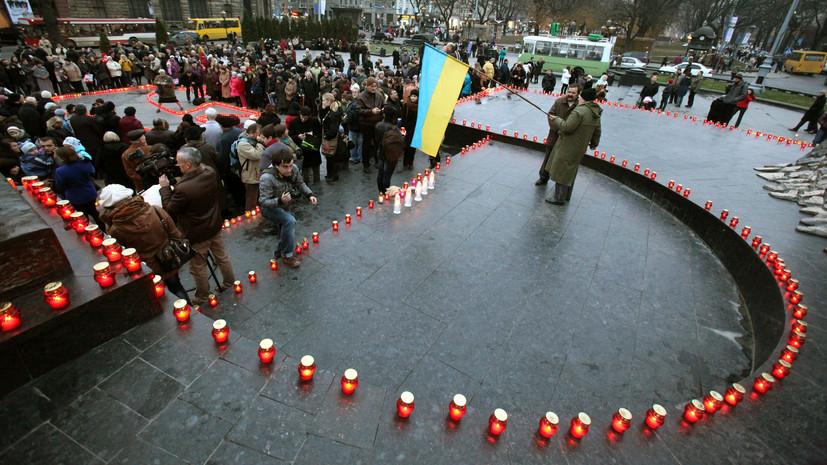 Сенат США признал голодомор «геноцидом украинского народа»