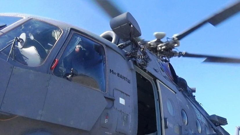 Авиация ЧФ впервые приняла участие в учениях на полигоне в Дагестане