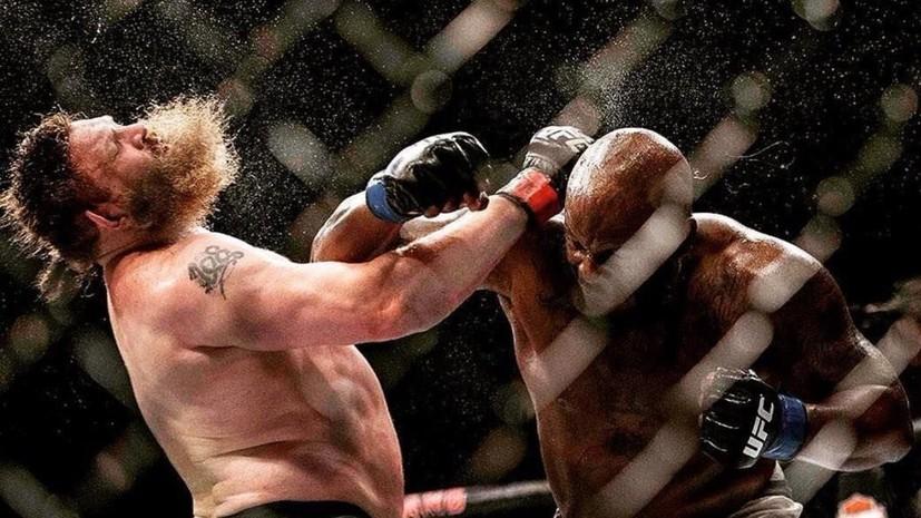 Житель россии  Александр Волков проиграл натурнире UFC