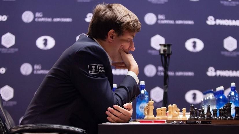 Мужская сборная России завоевала бронзу на шахматной олимпиаде в Батуми