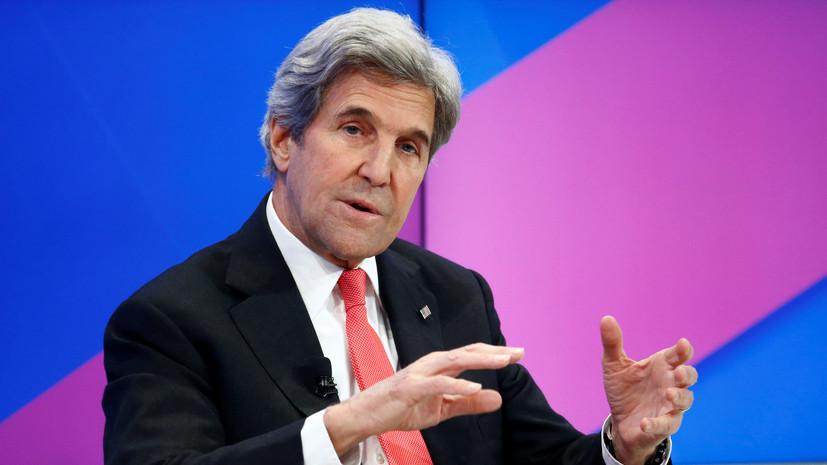 Джон Керри заявил, что в США есть «желающие бомбить Иран»