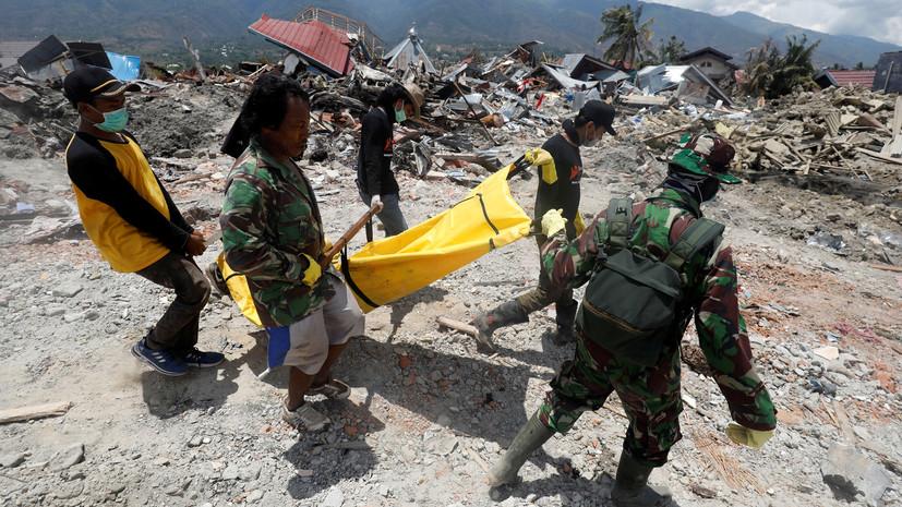 Более 150 тысяч человек остаются под завалами после землетрясения в Индонезии