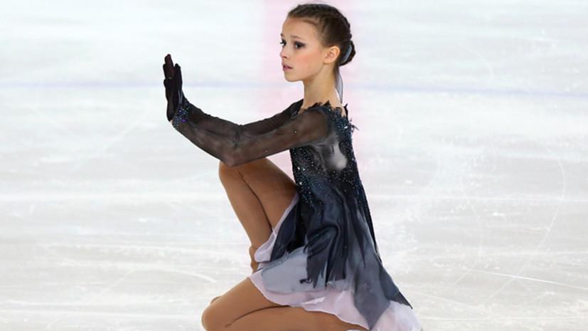 Щербакова впервые в истории женского фигурного катания сделала два четверных лутца в одной программе
