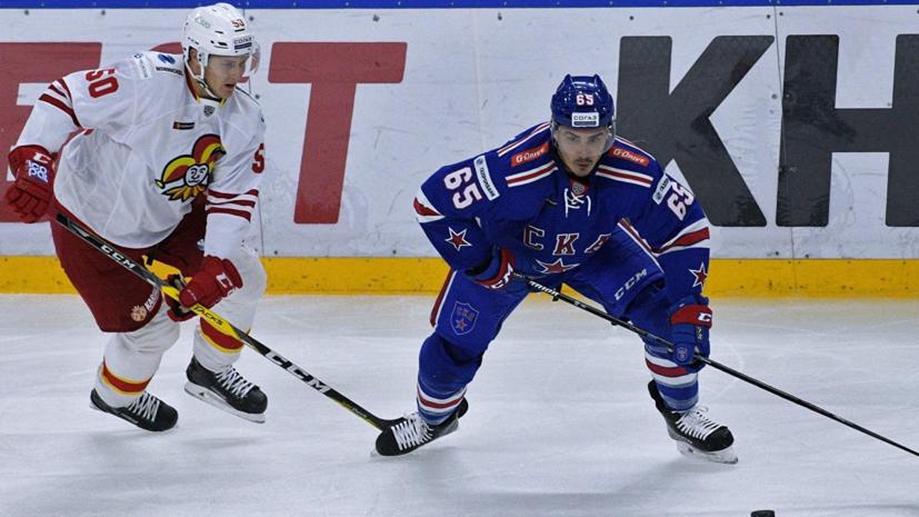 СКА одержал победу над «Йокеритом» в матче КХЛ