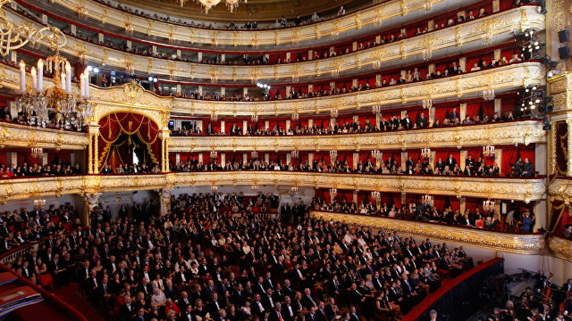 В Большом театре открылись Дни культуры Таджикистана в России