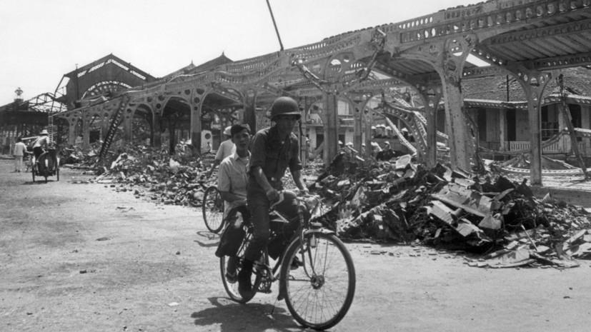 Стало известно опланах США использовать воВьетнаме ядерное оружие