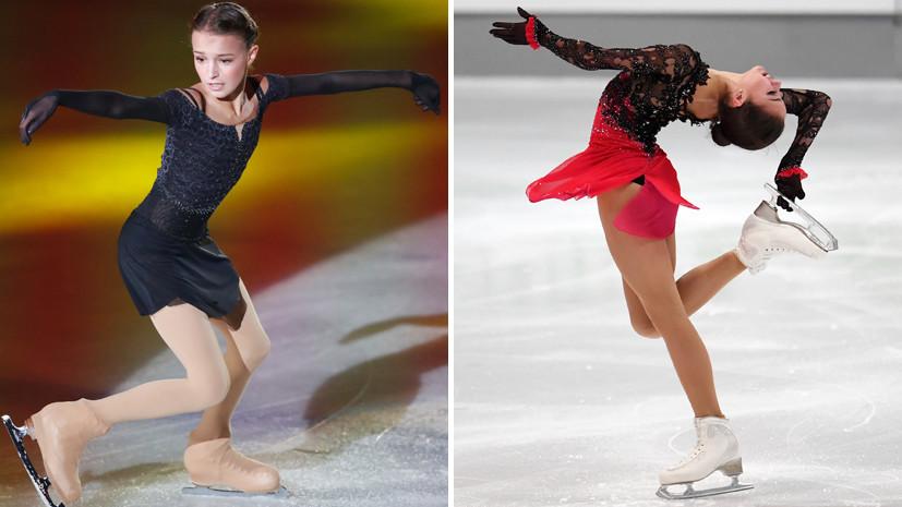 Россиянки Загитова и Щербакова друг за другом установили новые рекорды в фигурном катании