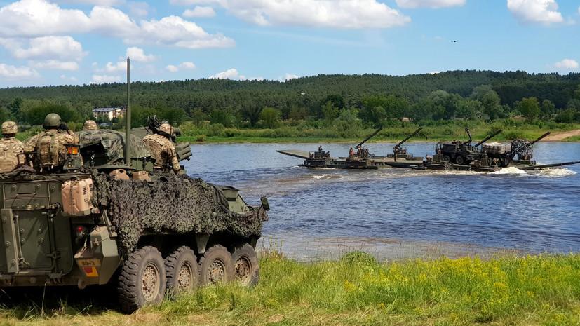 В Литве во время учений погиб военнослужащий из ФРГ