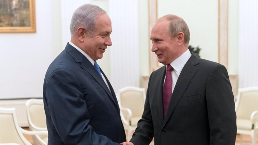 Нетаньяху рассказал о договорённости о встрече с Путиным