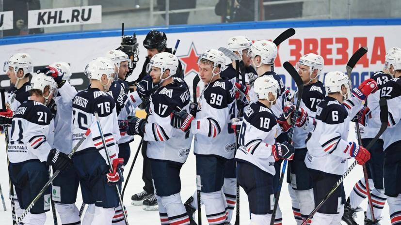 «Металлург» одержал шестую победу подряд в КХЛ, обыграв «Амур»