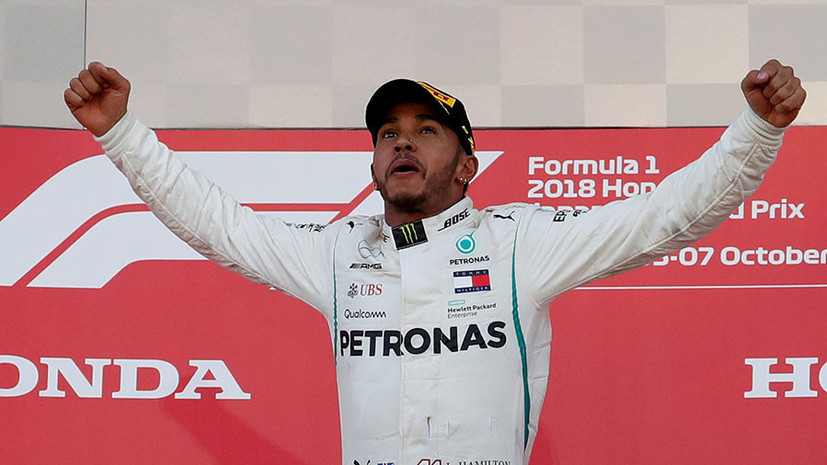 Победа Хэмилтона, разворот Феттеля и 16-е место Сироткина: итоги Гран-при Японии в «Формуле-1»