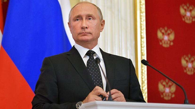 Сотникова поздравила Путина с 66-летием