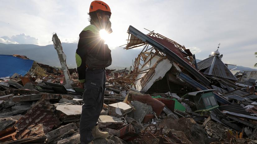 Число погибших при землетрясении в Индонезии возросло до 1944