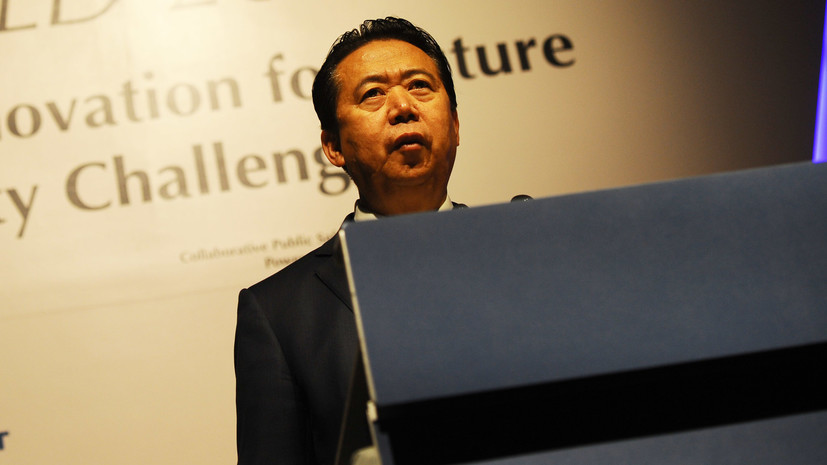В Китае президента Интерпола подозревают в нарушении закона