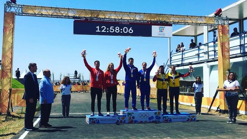 Сборная России по BMX завоевала золото юношеской Олимпиады в Буэнос-Айресе