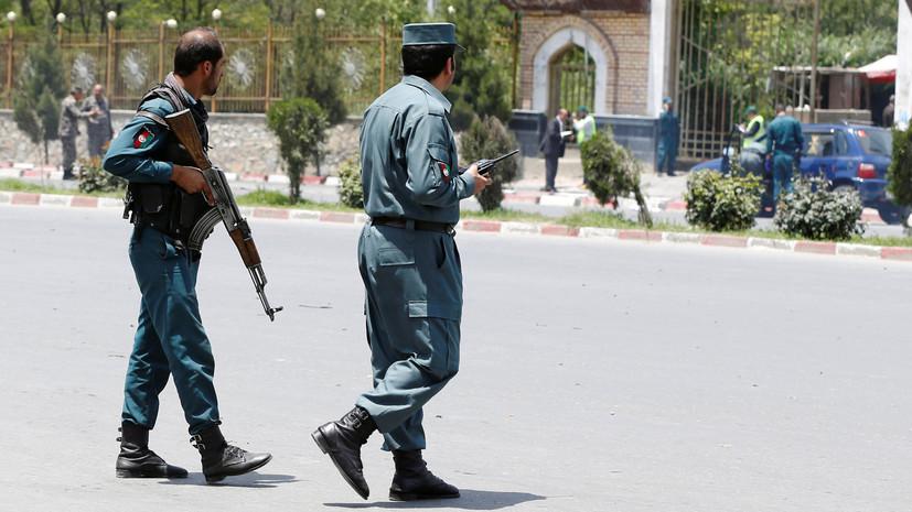 В Афганистане в столкновениях с боевиками погибли 14 полицейских