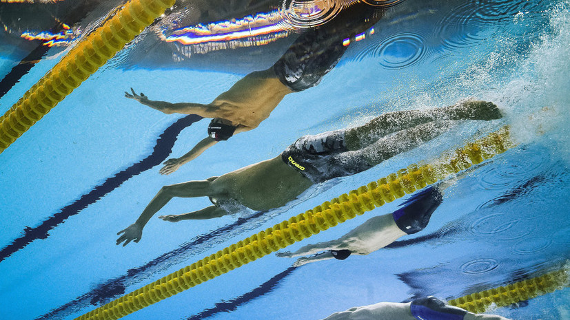 Сборная России победила в смешанной эстафете 4 × 100 м вольным стилем на юношеской Олимпиаде