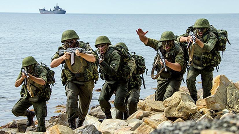 Здоровая конкуренция: зачем России ударные подразделения морской пехоты