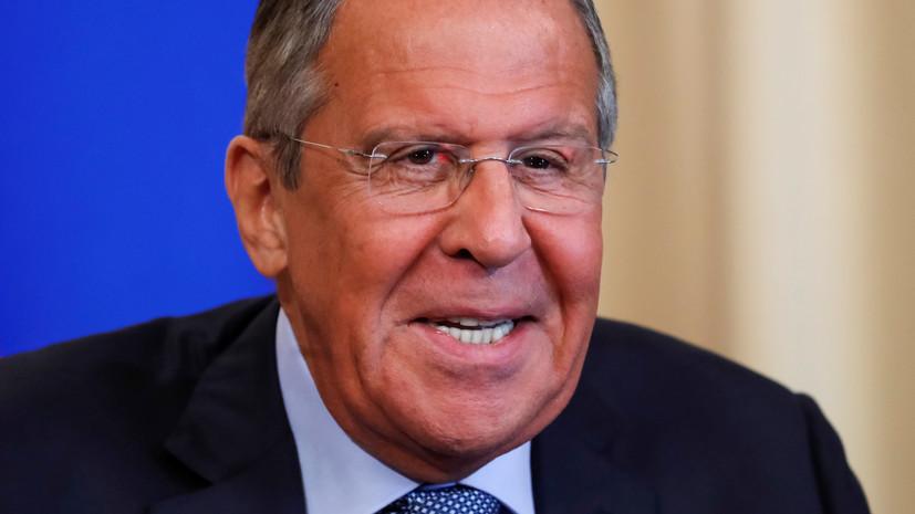 Лавров назвал рутинной поездку высланных Нидерландами россиян