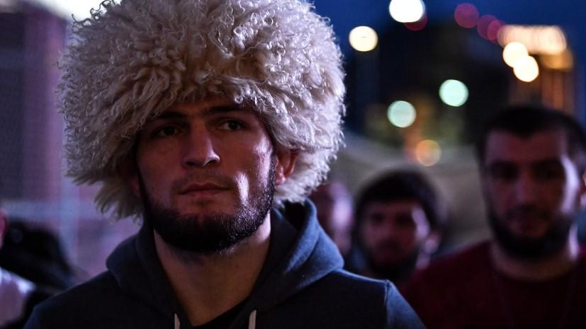 В бойцовском клубе «Ахмат» прокомментировали победу Нурмагомедова