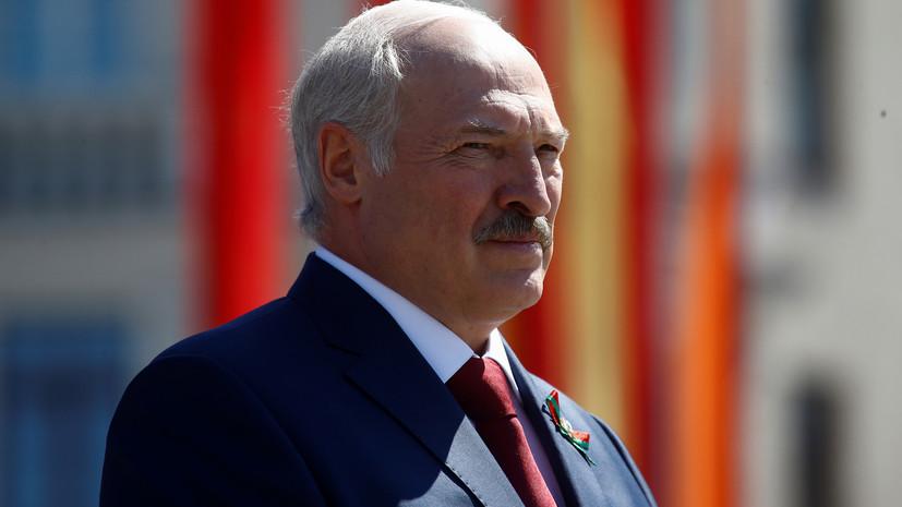 Лукашенко выразил обеспокоенность из-за «притока» оружия с Украины