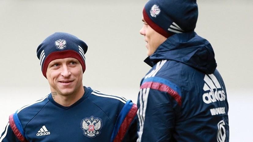 Вице-президент РФС Анохин: Мамаев и Кокорин не имеют отношения к сборной России