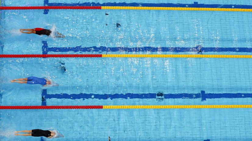 Россиянка Васькина стала победительницей юношеской Олимпиады в плавании на дистанции 100 м на спине
