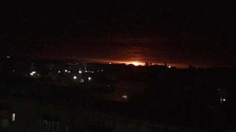 В ВСУ рассказали об интенсивности взрывов на горящем складе