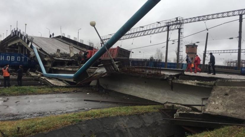 Власти назвали возможную причину обрушения моста в Приамурье