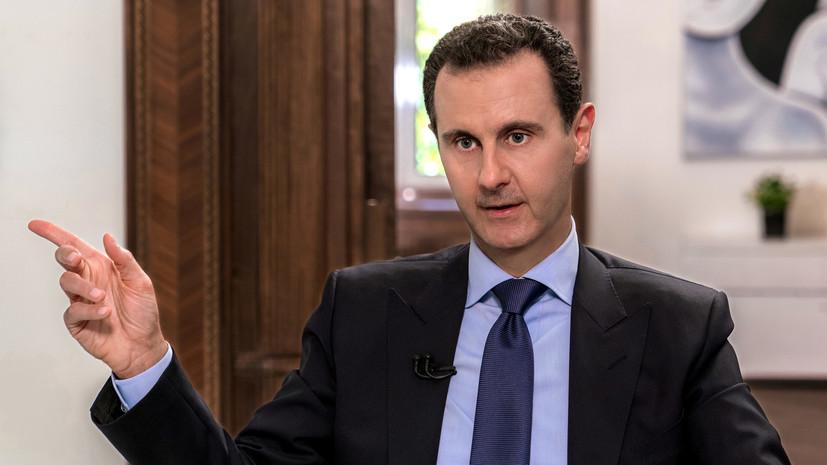 Лидер Сирии издал указ об амнистии для уклонившихся от военной службы