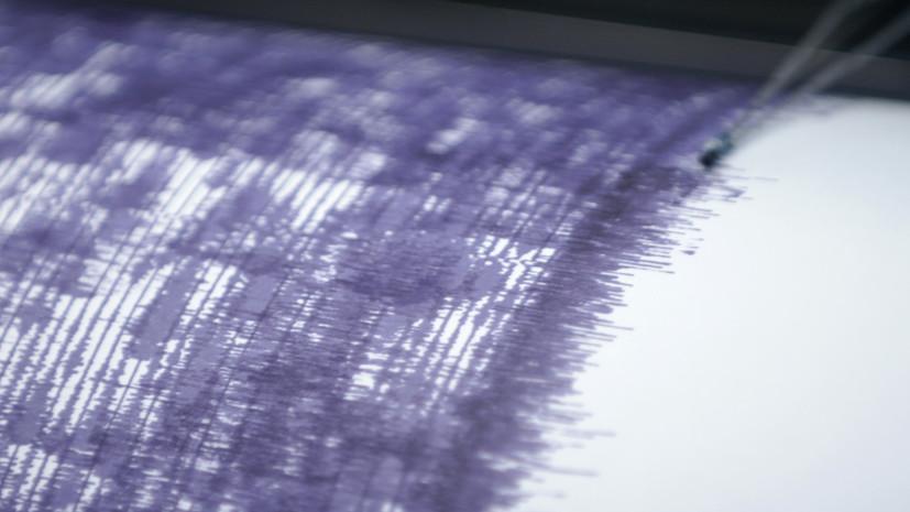 У Курильских островов произошло землетрясение магнитудой 6,1