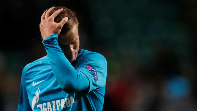 «Зенит» намерен наказать Кокорина за инциденты в Москве