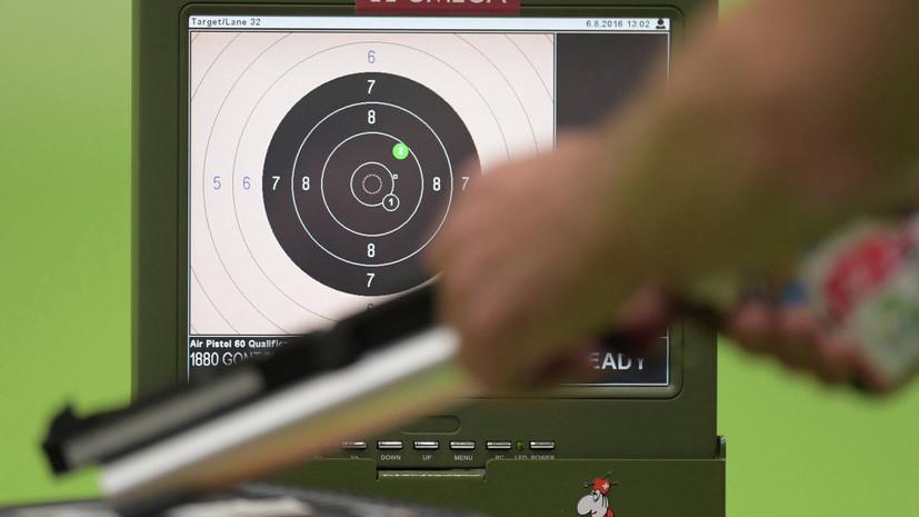 Россиянка Енина завоевала серебро юношеской Олимпиады в стрельбе из пистолета