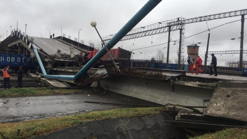 В Приамурье пустили грузовые поезда после обрушения моста
