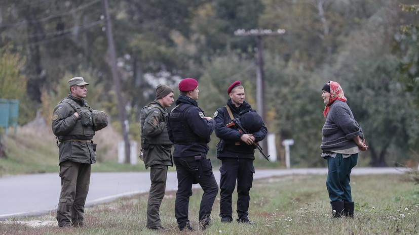 На Украине усилена охрана арсеналов после пожара на складах под Черниговом