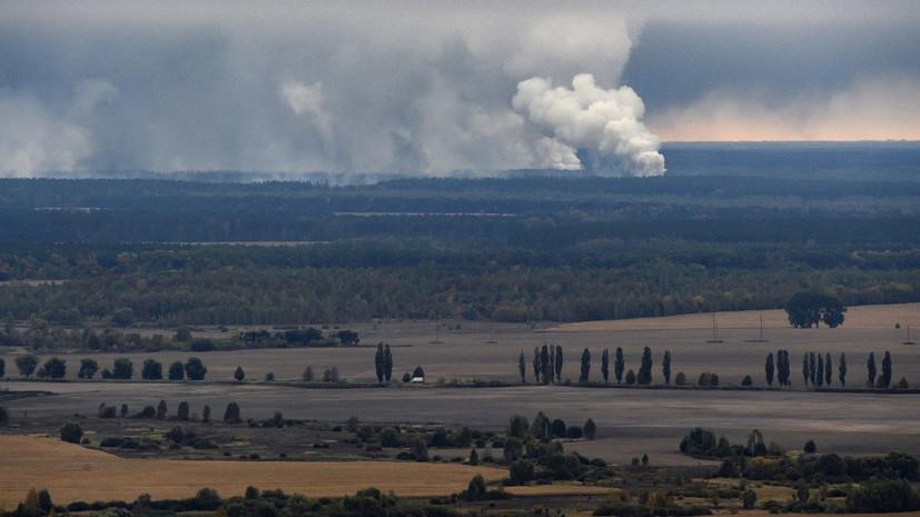 На Украине привлечены к ответственности 24 человека после пожара под Черниговом