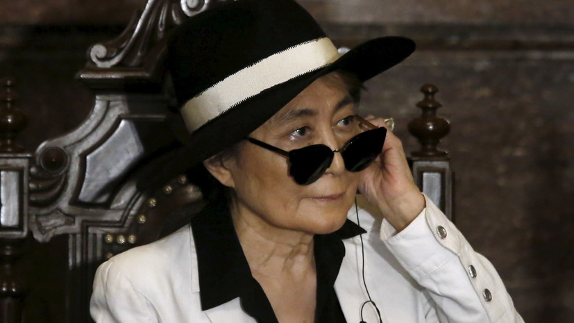 Йоко Оно записала кавер на песню Imagine
