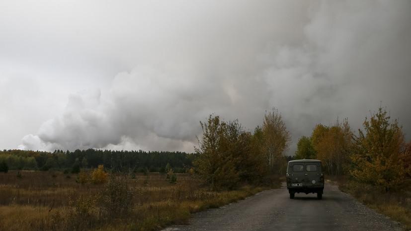 В Минобороны Украины назвали причину взрывов на складах с боеприпасами