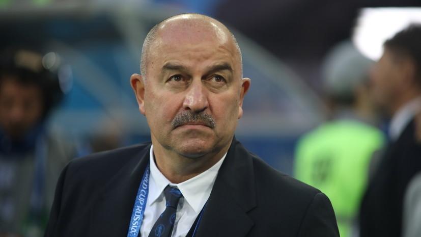 Черчесов рассказал, кто займёт место в воротах в матче против сборной Швеции