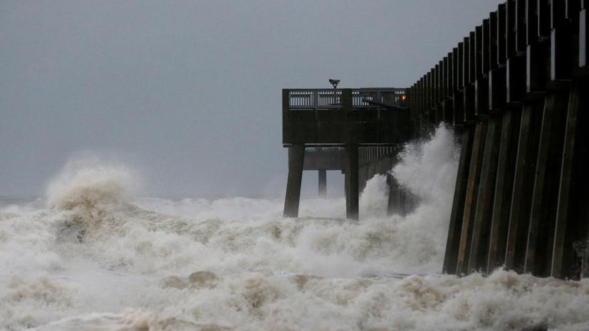 Аналитики назвали сумму возможного ущерба для США от урагана «Майкл»